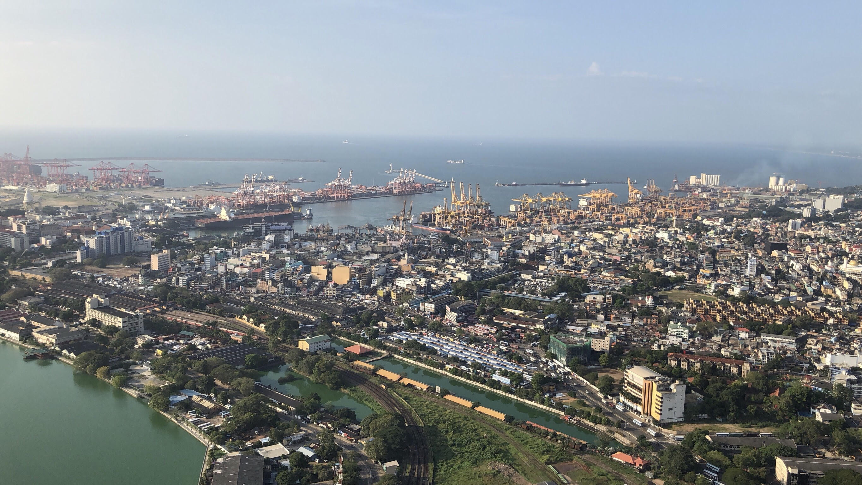 port city view