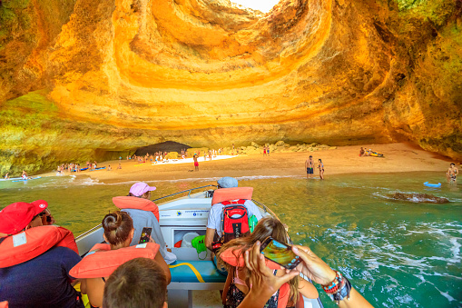 BEAUTIFUL PLACES IN THE WORLD YOU DIDN'T KNOW EXISTED-Benagil Caves boat ride
