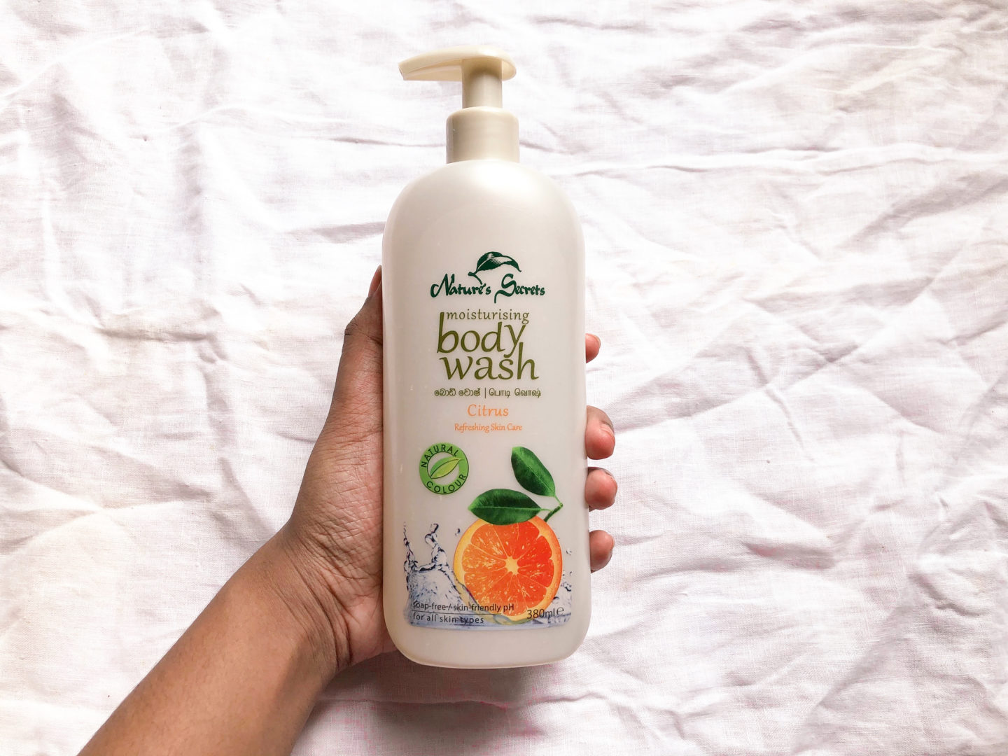 4 PRODUCTS THAT WILL CHANGE YOUR LIFE FOREVER (WHICH I CAN'T LIVE WITHOUT!) natures secret body wash citrus