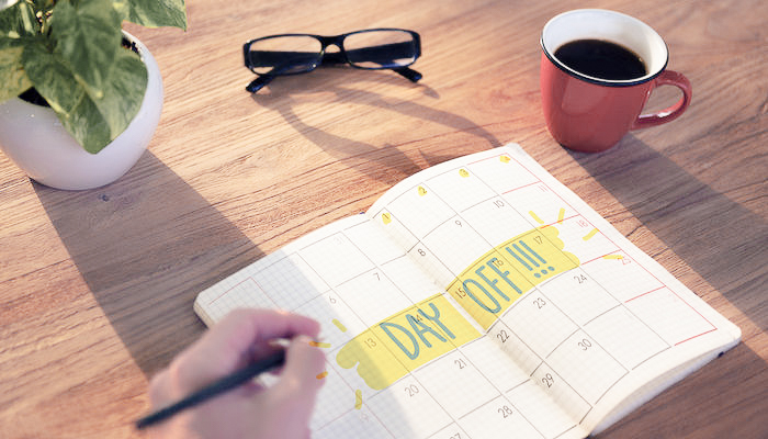 WHY TAKING TIME OFF IS HEALTHY DAY OFF (1 of 1)