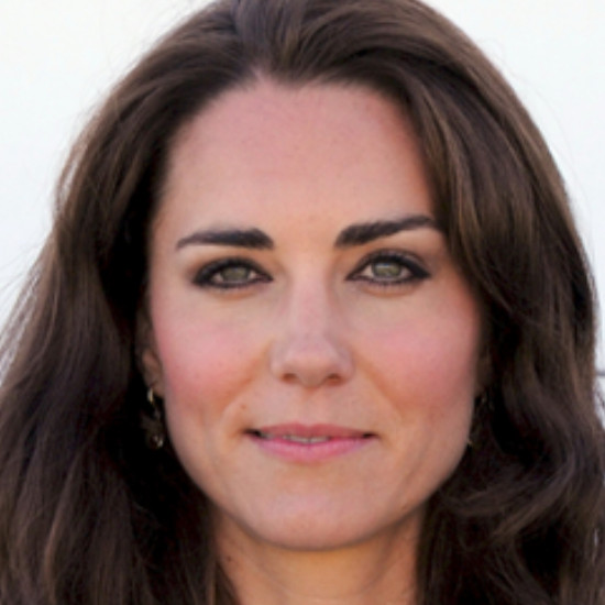 kate middleton oval face